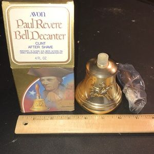Avon Paul Revere After Shave New In Box